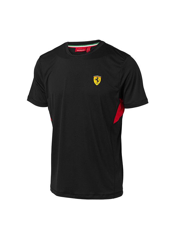 Scuderia Ferrari Camiseta Oficial Cl/ásica Negra
