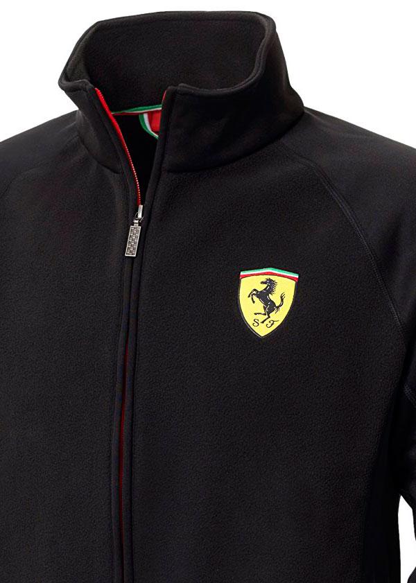 Ferrari Chaqueta Softshell negra