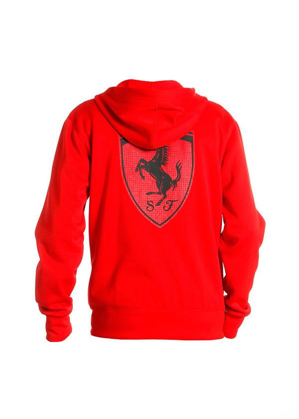 Big Scuderia Shield Roja Back Chaqueta Ferrari x0EtwdqnnY