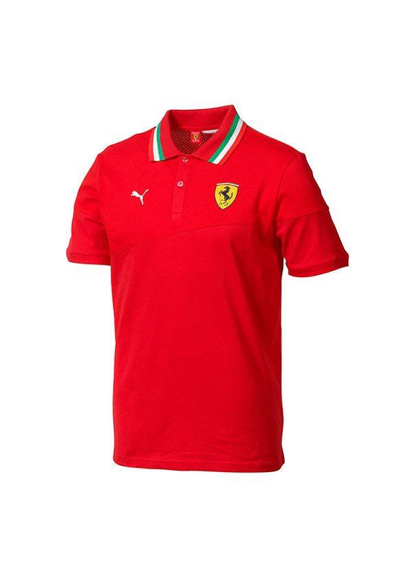 Scuderia Ferrari Polo Oficial Italia Negro