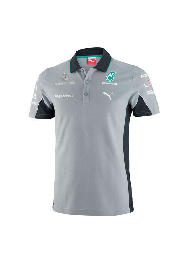 Polo Mercedes AMG Petronas Team Gris – RecalviSport 902b4919e6d