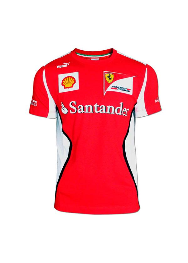 FERRARI Polo ni/ño Escuder/ía F1 2012 Rojo Talla 12