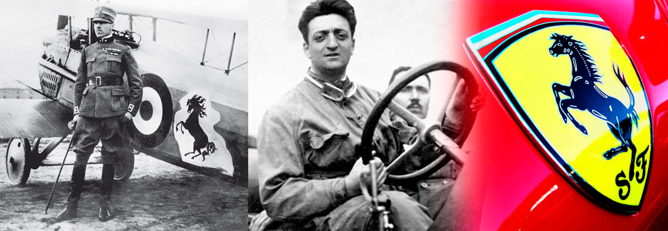 Cavallino Rampante Ferrari historia