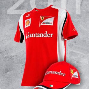 Pack Histórico Scuderia Ferrari Team F1 2011 64eaa128526