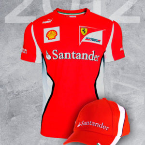 Pack Histórico Scuderia Ferrari Team F1 2012 ce6f69e3151