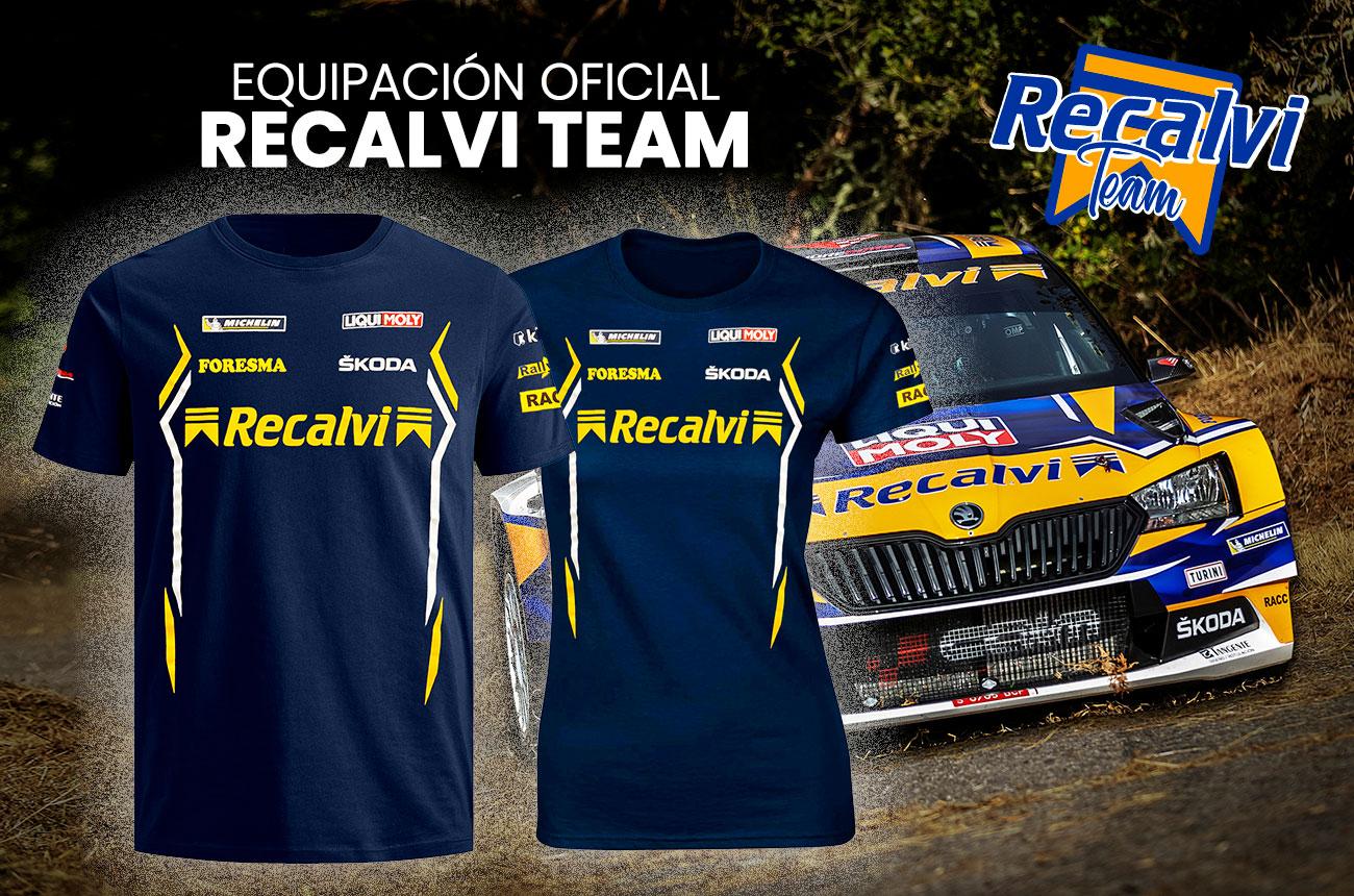 Camiseta Recalvi Team Cohete Oficial 2020