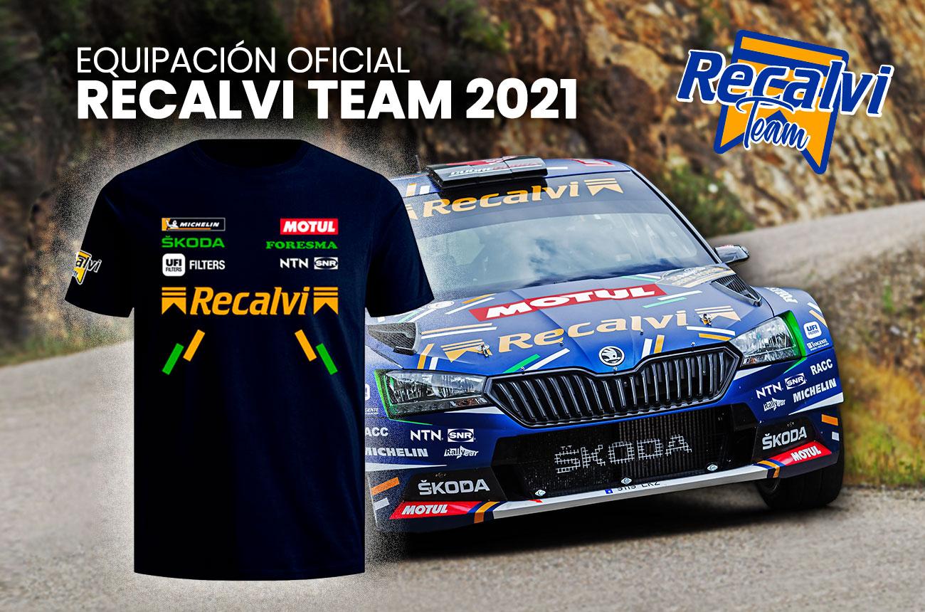 Equipación Recalvi Team 2021